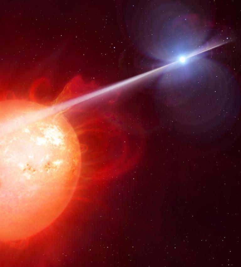 Pierwszy pulsar - biały karzeł