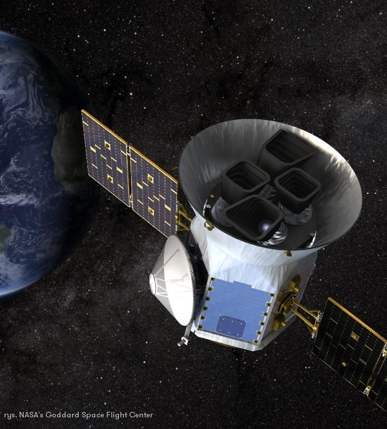 Teleskop TESS już działa