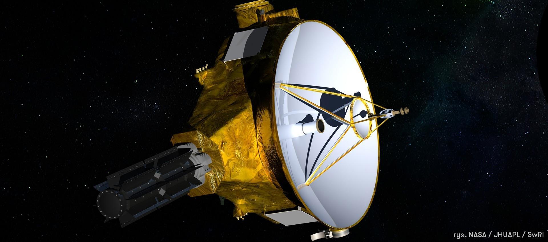 Sonda New Horizons idzie spać