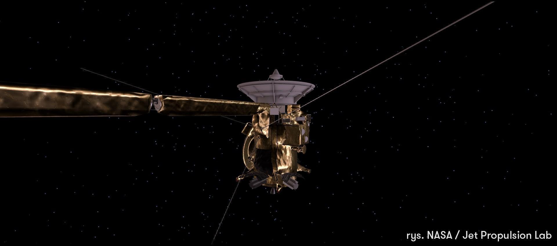 Wielki koniec misji Cassini