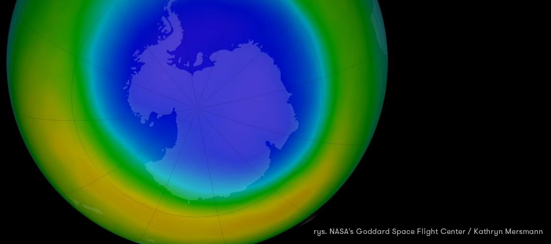 Dziura ozonowa powoli znika