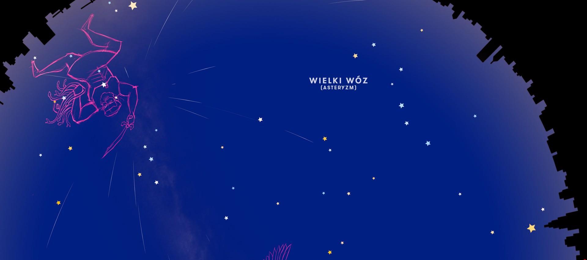 Nocne niebo nad Łodzią: sierpień 2019 r.