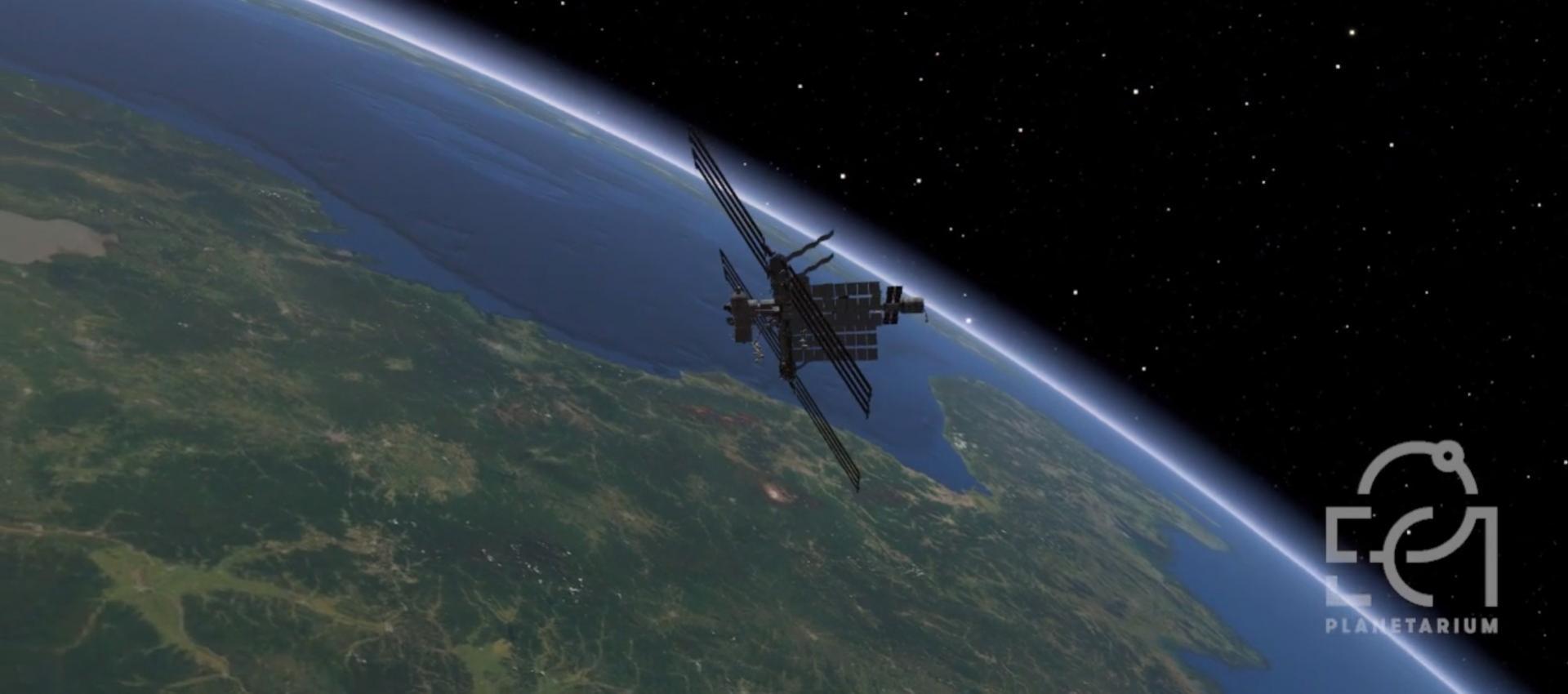 Transmisje na żywo z Planetarium EC1